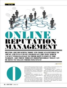 Online Reputation Management -